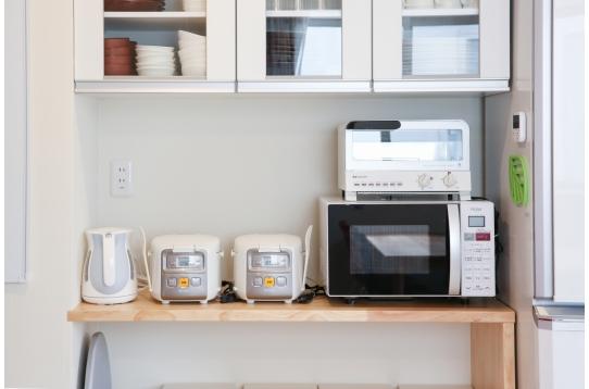 キッチン器具も充実!