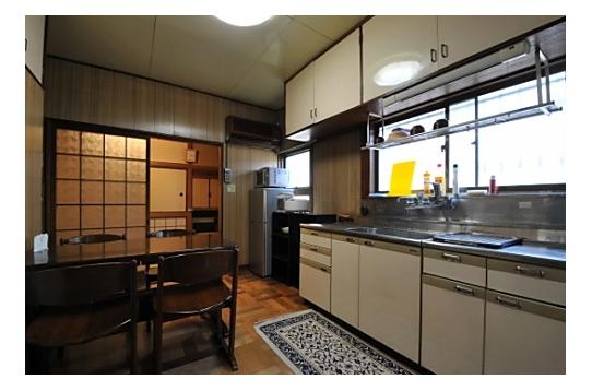共有スペース キッチンです