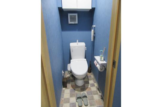 きれいなトイレも複数完備!