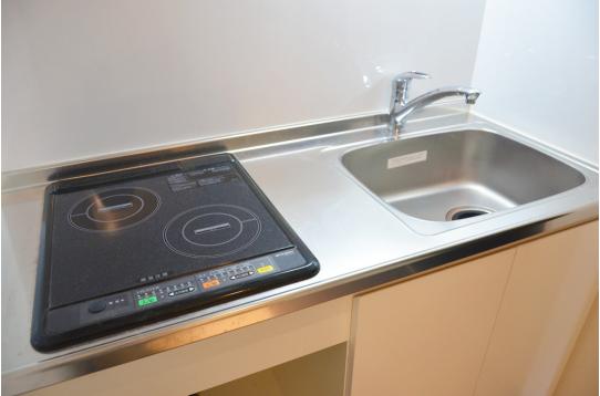 IHコンロで使いやすいキッチンスペース