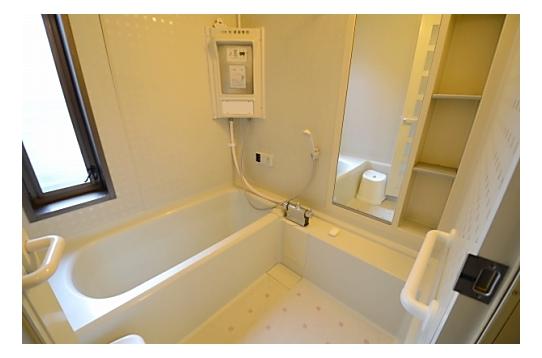 シャワー室。2ヶ所あります。