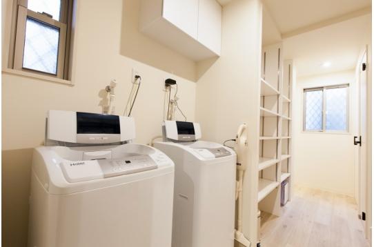 洗濯機はペット用含め3台