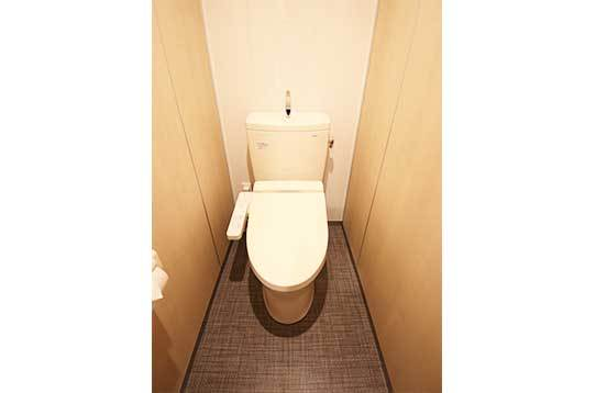 トイレは全てウォッシュレット付き!