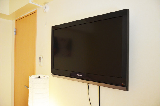 TVも大きめです♪好きな映画を楽しんで下さい。