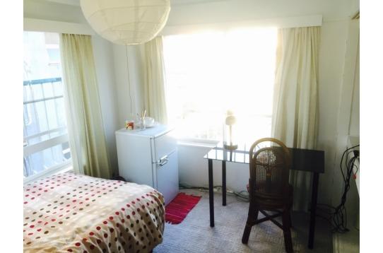 401号室。全室角部屋。