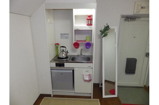 ●各部屋嬉しいキッチン付