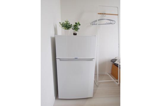部屋ごとに冷蔵庫もあります