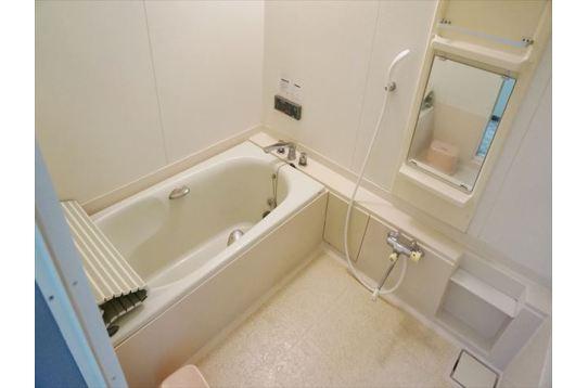 お風呂場。