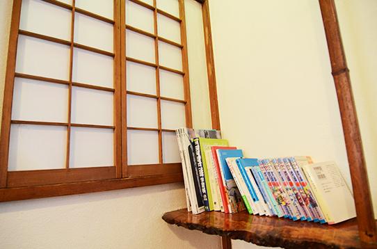 共用の本棚