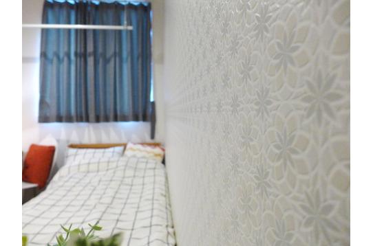 お部屋ごとに壁紙が異なります
