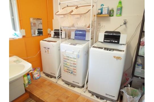 洗濯機は無料でお使い頂けます