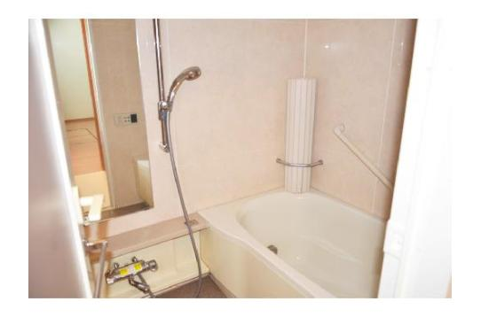 浴室はバスタブ付きです!