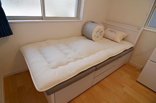 寝具類も揃っています