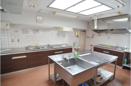 キッチンも綺麗で快適!