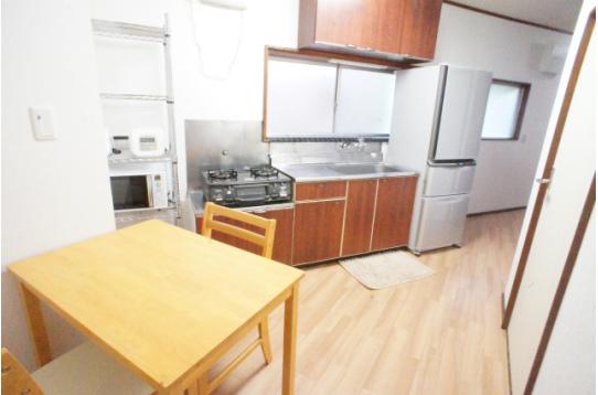 綺麗で快適なキッチン&リビング。