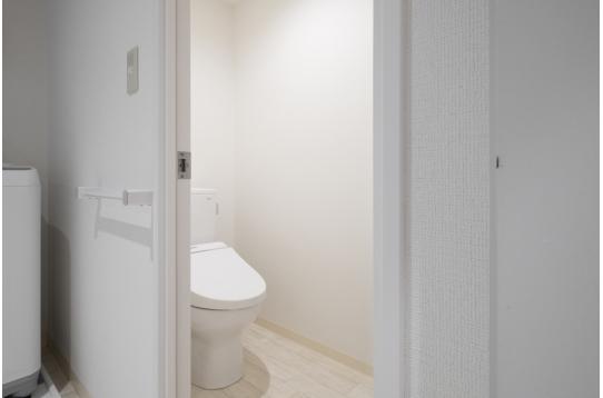 各フロア2台のトイレをご用意してます。