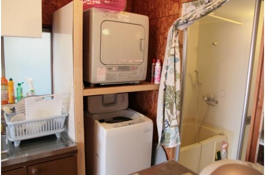 無料の洗濯機、乾燥機