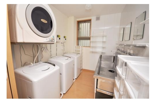洗濯機24時間使用可能です