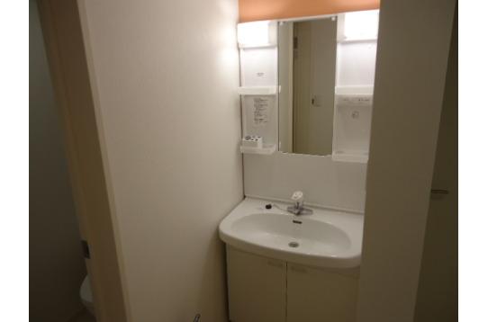 2階の洗面台☆