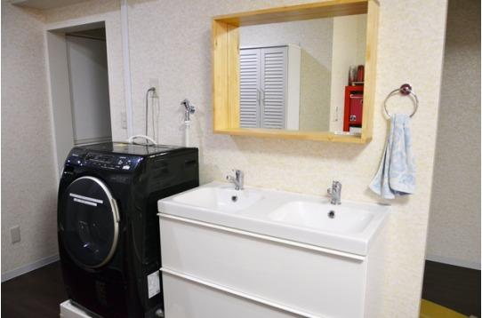 デザイン性のある洗面台