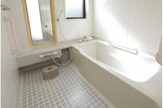 広くて清潔なお風呂