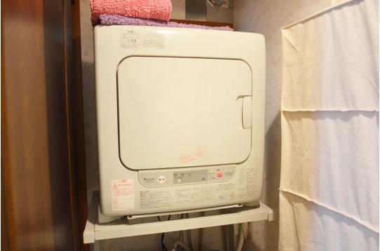 乾燥機付き