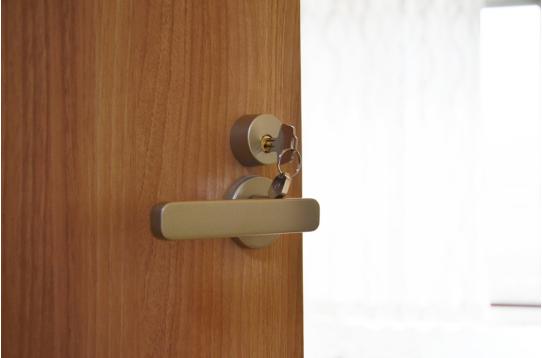 もちろん全室鍵付き