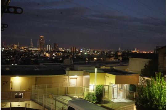 ●お部屋から望む横浜みなとみらいの夜景