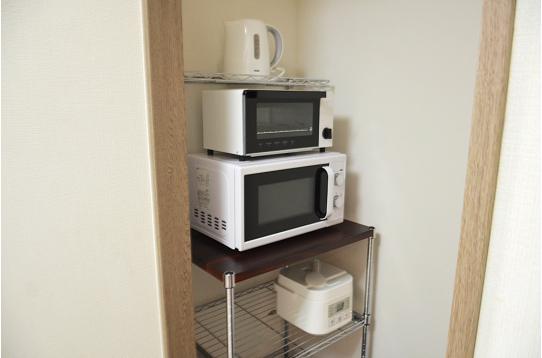 キッチン家電も揃ってます