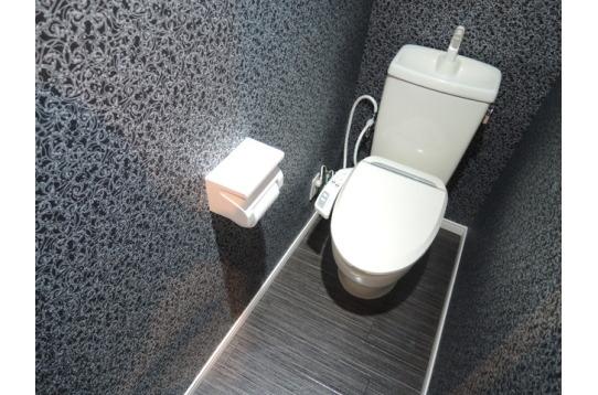 トイレも各階にあります。