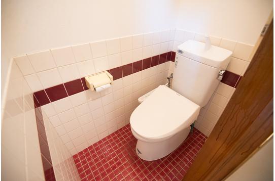 1階トイレの様子