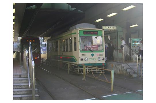 都内で唯一の路面電車です!