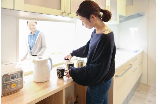 キッチンも広い!料理も楽しい!