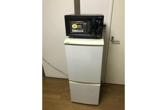 個室・電子レンジ&冷蔵庫