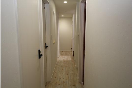 廊下の様子です。