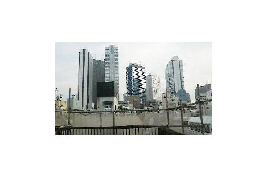 屋上からの眺望(新宿ビル群)