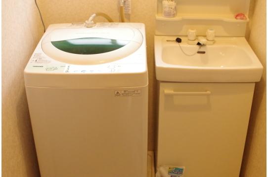 無料の洗濯機
