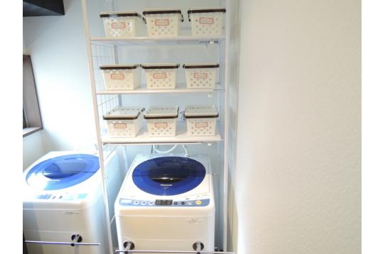洗濯機は2台あります。