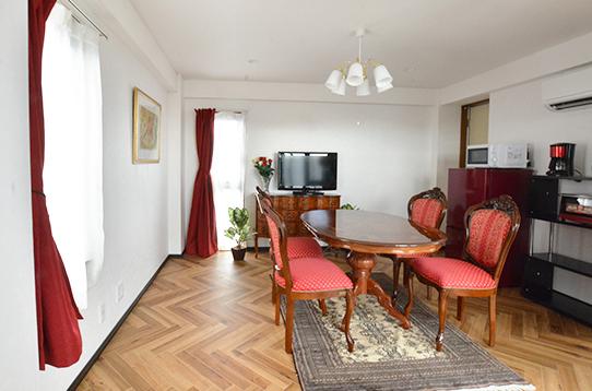 居住スペースと階が分かれているので便利!