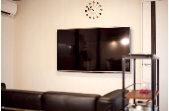 60型の大型テレビがあります