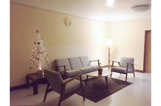 クリスマスの雰囲気の共有スペース★