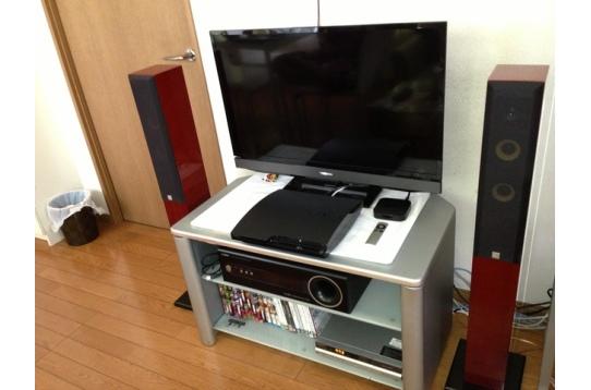 最新TV!ハイクオリティースピーカー置いてます♪