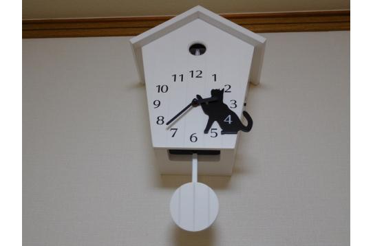 にゃん子の時計だ、にゃん♬