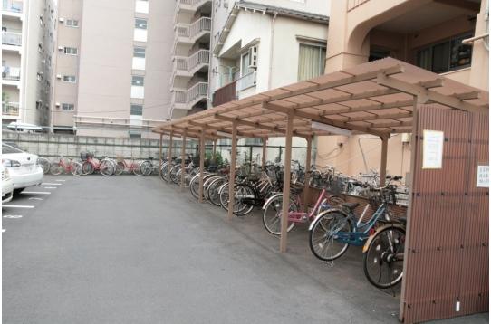 駐輪場 無料です。