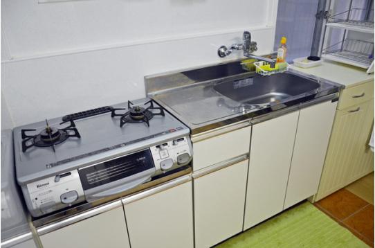 キッチンの様子。