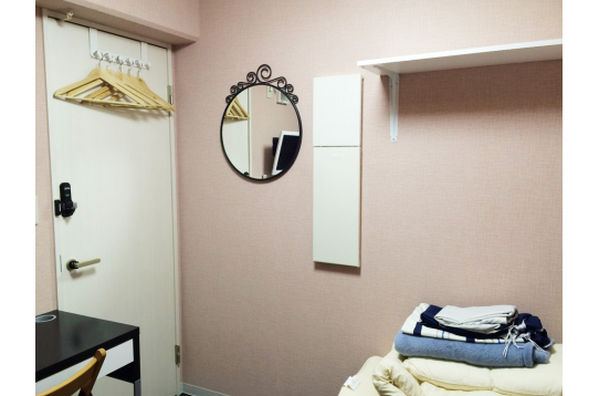 お部屋ごとに異なる壁紙