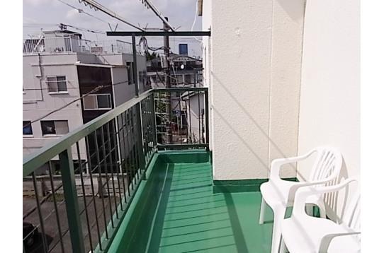 3階バルコニー 洗濯物がよく乾きます