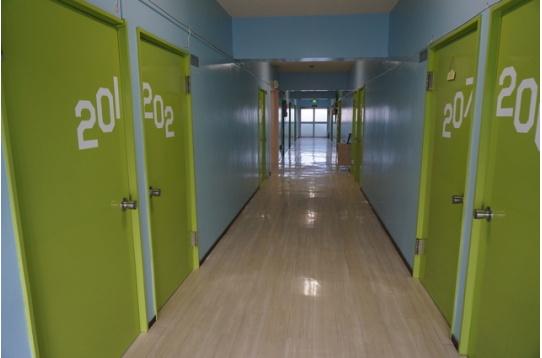 廊下の様子...