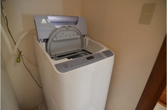 洗濯機も無料でご利用頂けます