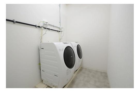 洗濯乾燥機、24時間無料で使い放題です。